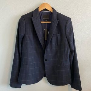 Beautiful Banana Republic Plaid Blazer Sz 8